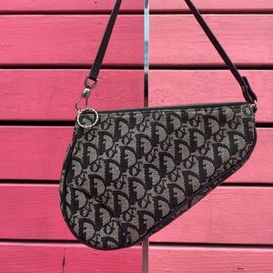 Christian Dior Mini Monogram Saddle / shoulder bag
